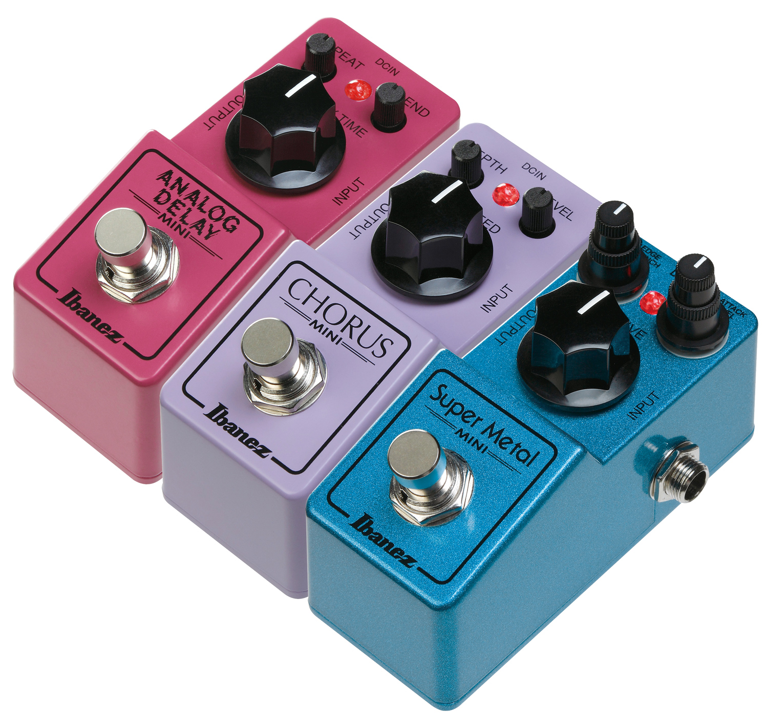 musicworks guitars effect pedals effect pedals ibanez mini effect pedals package. Black Bedroom Furniture Sets. Home Design Ideas
