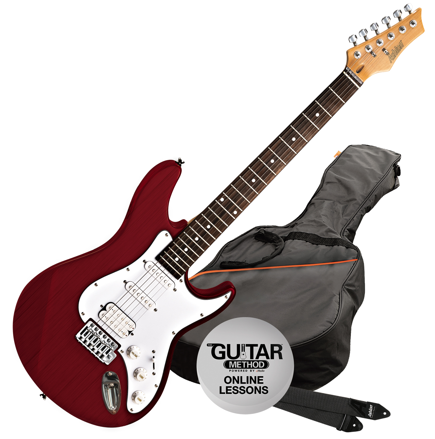 musicworks guitars electric guitars electric guitars ashton electric guitar pack. Black Bedroom Furniture Sets. Home Design Ideas