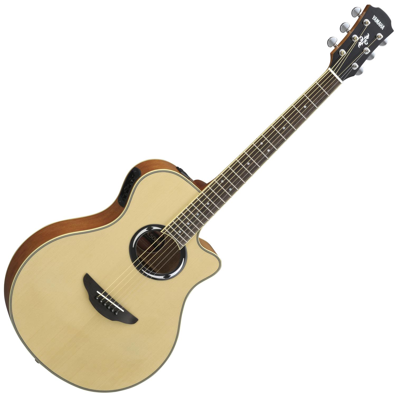 musicworks guitars acoustic electric guitars acoustic electric guitar yamaha apx. Black Bedroom Furniture Sets. Home Design Ideas