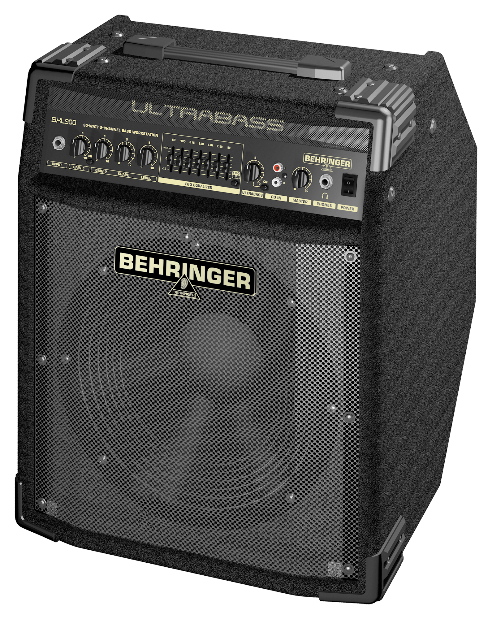 musicworks bass guitar amplifiers bass guitar amps behringer ultrabass 90w bass combo amp. Black Bedroom Furniture Sets. Home Design Ideas