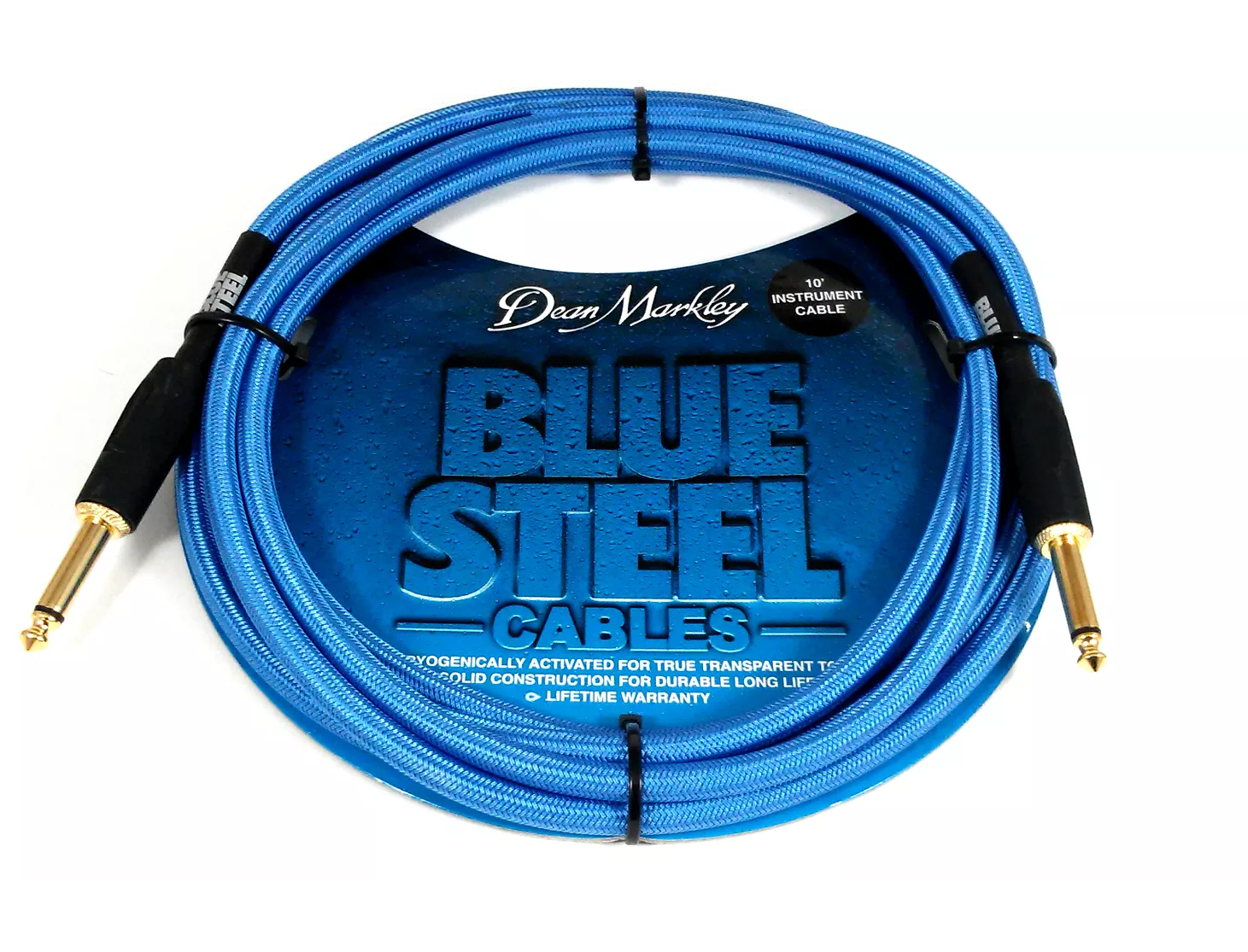Dean Markley Blue Steel 10ft Guitar Cable