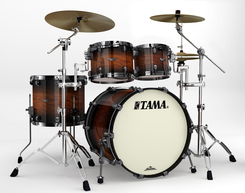 musicworks drums percussion rock drum kits rock kits tama starclassic bubinga 4 piece. Black Bedroom Furniture Sets. Home Design Ideas