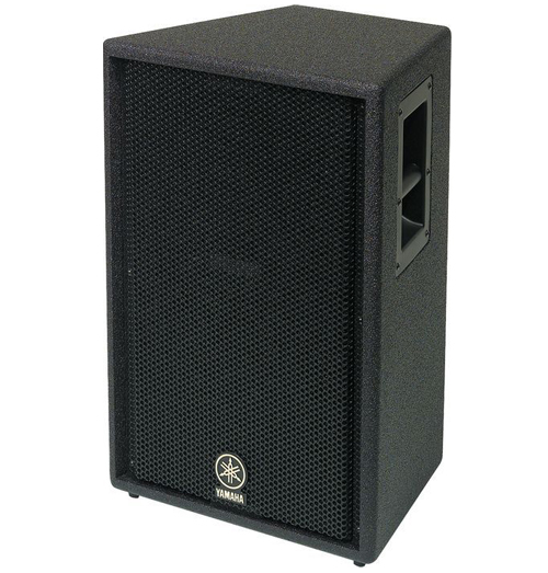 Musicworks p a unpowered speakers front of house for Yamaha club subwoofer