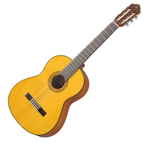 Musicworks guitars classical guitars classical for Yamaha solid top