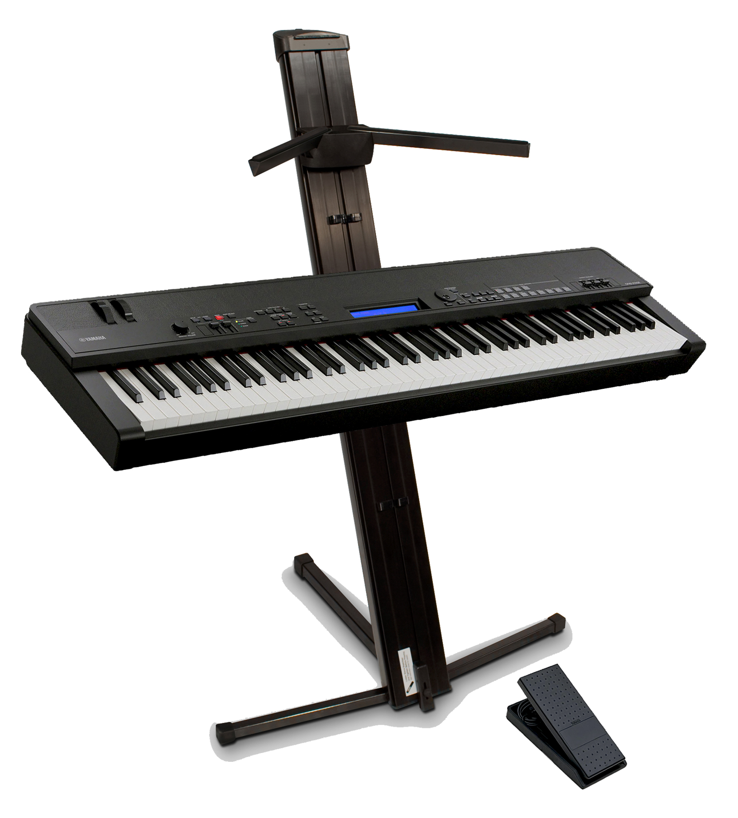 yamaha cp40 stage piano and ultimate ax48 stand. Black Bedroom Furniture Sets. Home Design Ideas