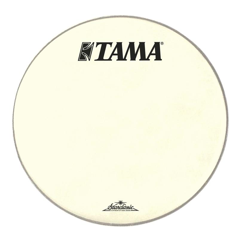 bass drum logo heads bass drum heads tama 20 inch starclassic logo drum head vintage white. Black Bedroom Furniture Sets. Home Design Ideas