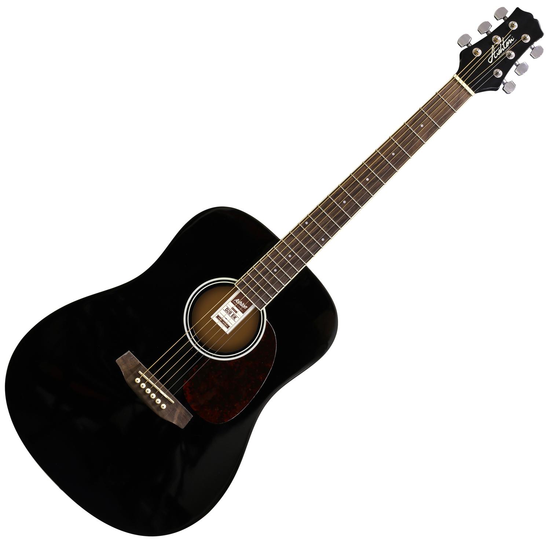musicworks guitars acoustic guitars acoustic guitars ashton acoustic guitar black. Black Bedroom Furniture Sets. Home Design Ideas