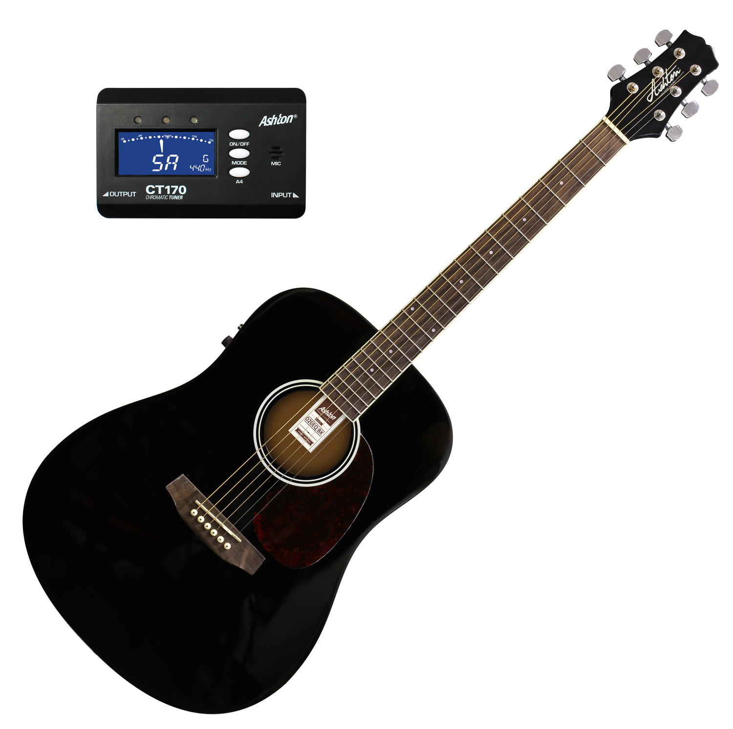 musicworks guitars acoustic electric guitars acoustic electric guitar ashton d20eq. Black Bedroom Furniture Sets. Home Design Ideas