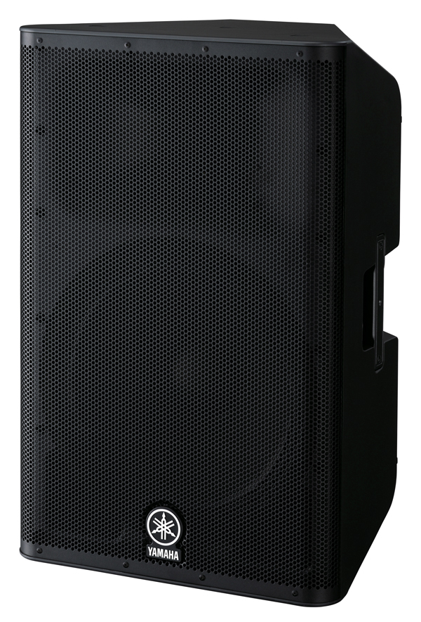 Musicworks pa powered speakers front of house speakers for Yamaha dxr series
