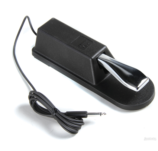 Musicworks keyboard accessories pedals keyboard for Yamaha keyboard sustain pedal