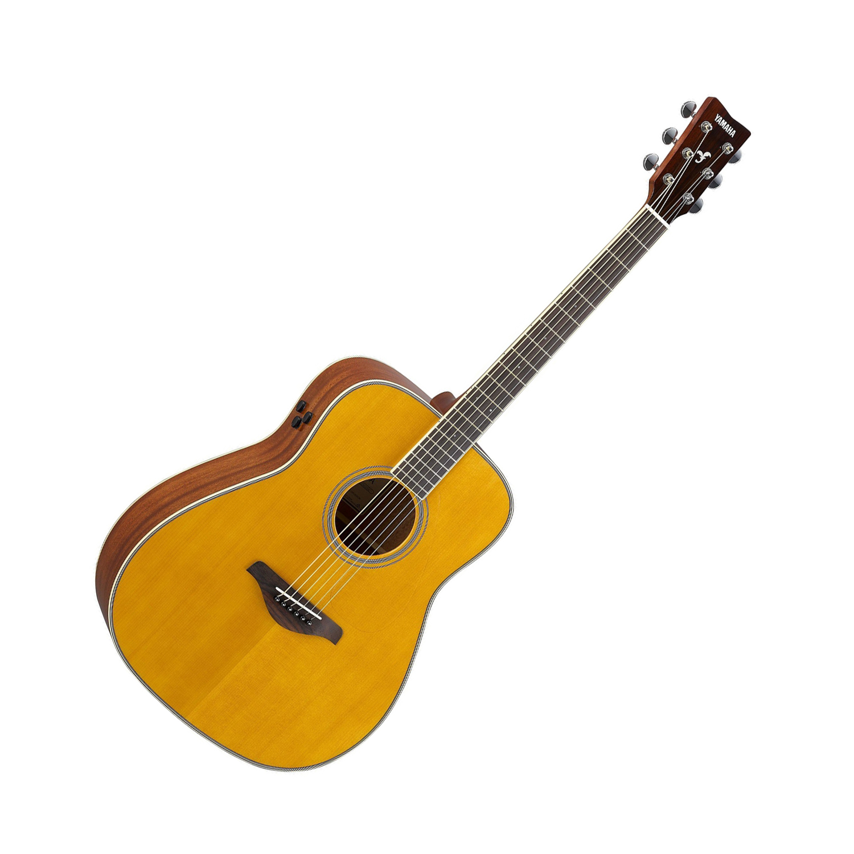 Musicworks Guitars Acoustic Electric Guitars Acoustic Electric Guitar Yamaha Fgta Transacoustic Solid Top