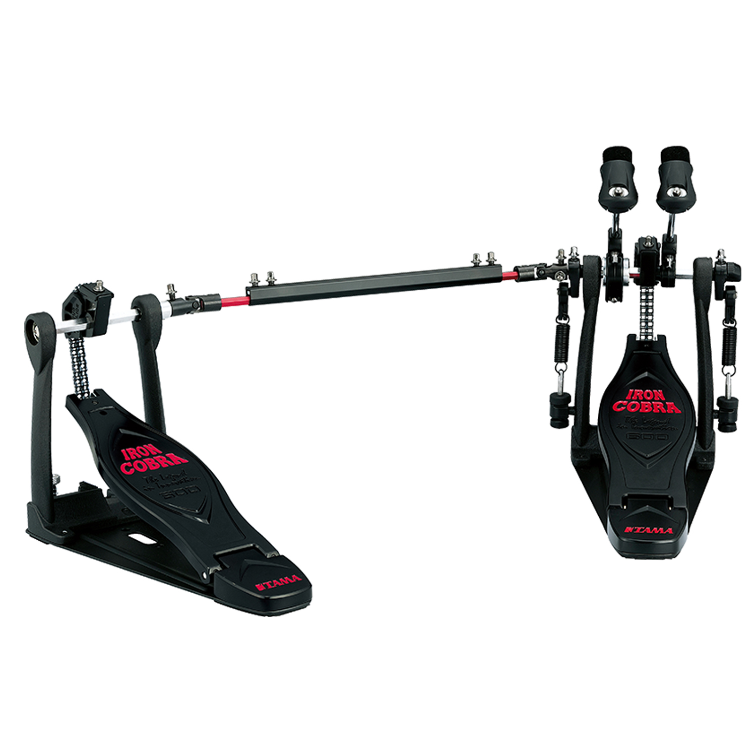 musicworks drums percussion kick pedals kick pedals tama twin iron cobra 600 black. Black Bedroom Furniture Sets. Home Design Ideas