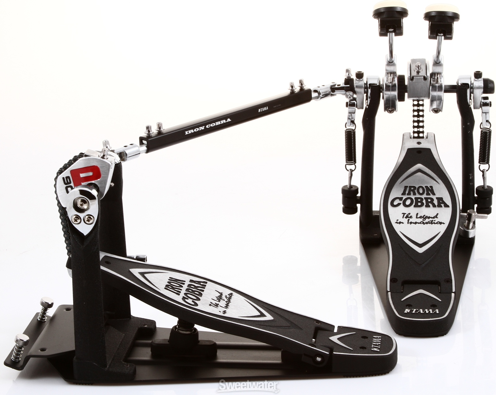 musicworks drums percussion kick pedals kick pedals tama iron cobra power glide double. Black Bedroom Furniture Sets. Home Design Ideas