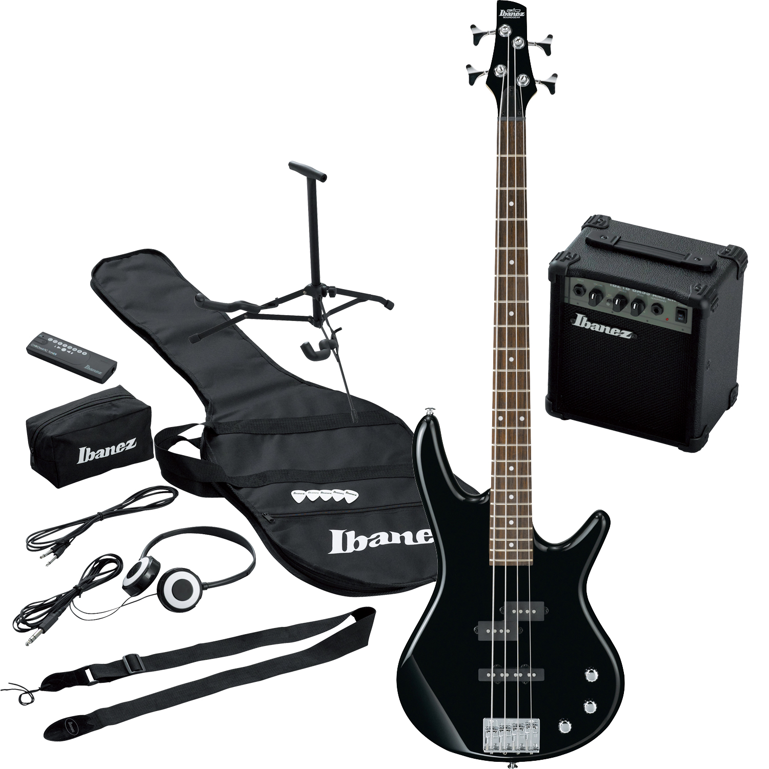 Ibanez Bass Amp Pack Ibanez sr Bass Guitar Pack