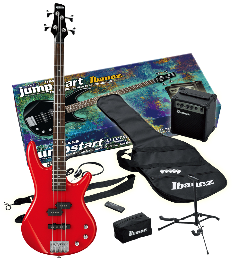 Ibanez Bass Amp Pack Ibanez Bass Pack Red