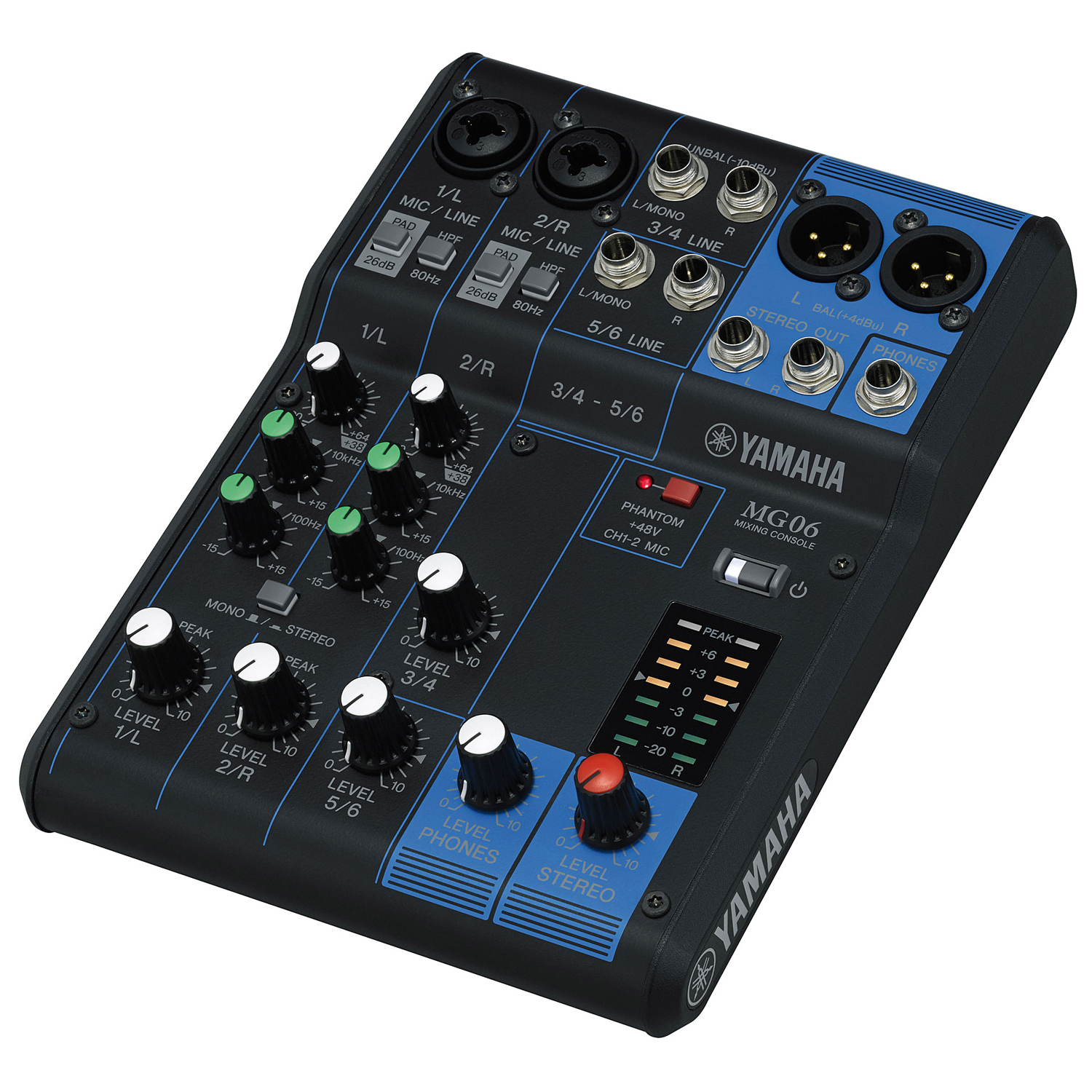 musicworks pro audio live sound unpowered mixers unpowered mixers yamaha 6 channel mixer. Black Bedroom Furniture Sets. Home Design Ideas