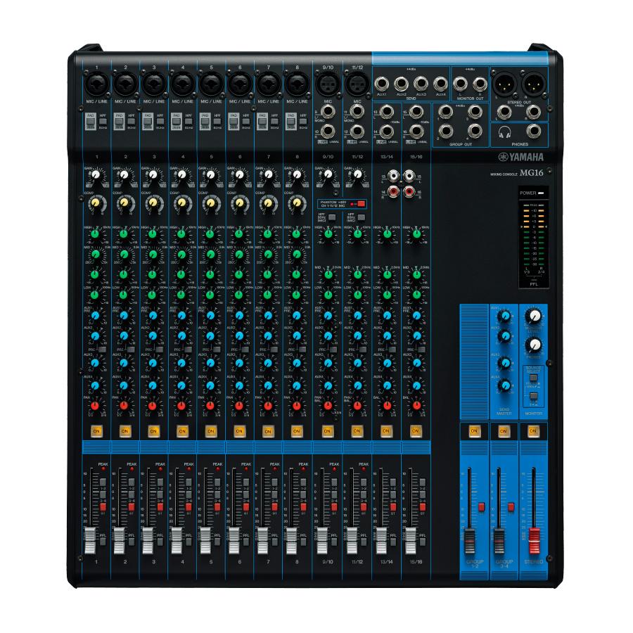 Yamaha 16 Channel Mixer : musicworks pro audio live sound unpowered mixers unpowered mixers yamaha mg16 16 channel ~ Vivirlamusica.com Haus und Dekorationen