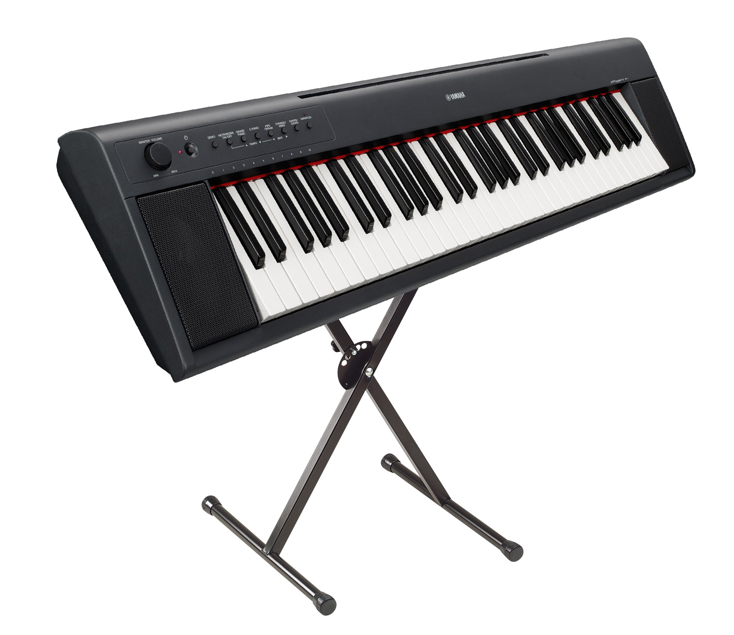 Musicworks portable keyboards home keyboards home for Yamaha np11 digital piano