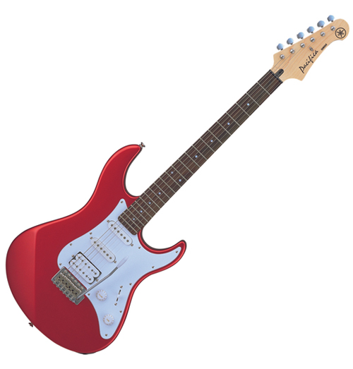 musicworks guitars electric guitars electric guitars yamaha pacifica electric guitar red. Black Bedroom Furniture Sets. Home Design Ideas