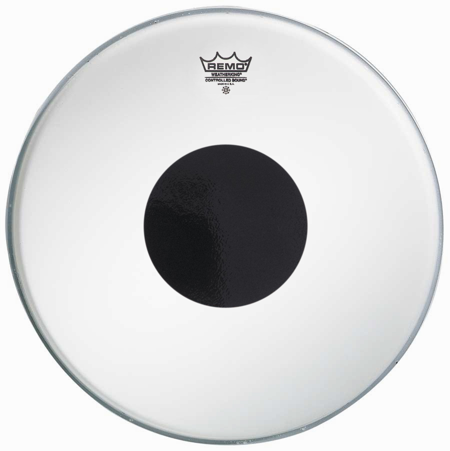 snare drum heads remo 14 inch coated cs black dot drum head. Black Bedroom Furniture Sets. Home Design Ideas