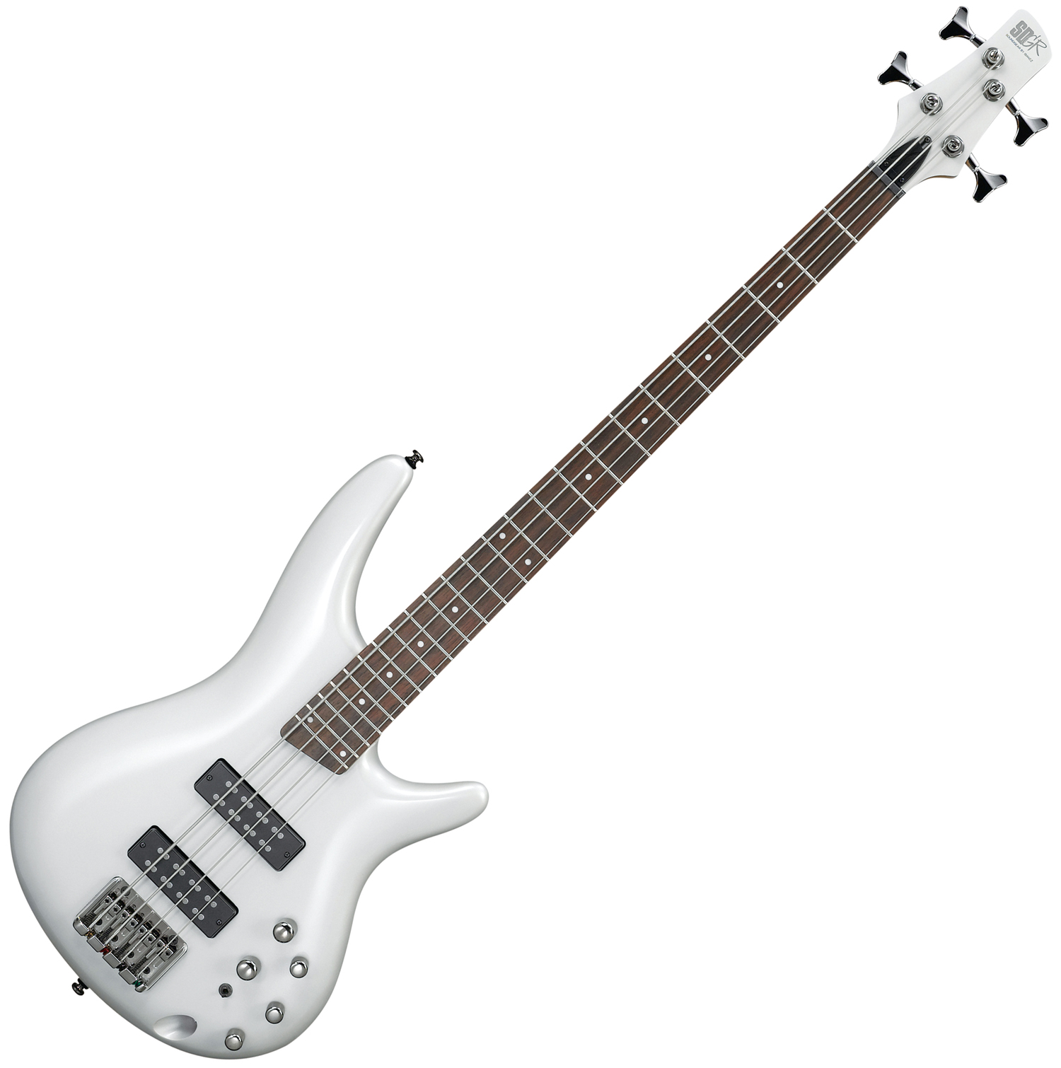 musicworks guitars bass guitars 4 string bass guitars ibanez sr bass guitar pearl white. Black Bedroom Furniture Sets. Home Design Ideas