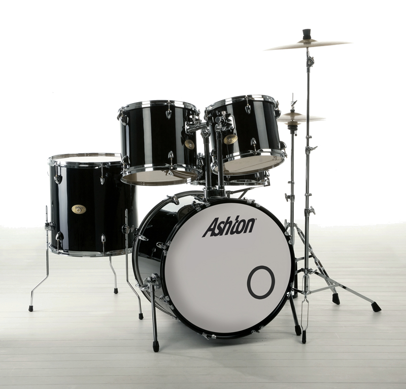 musicworks drums percussion jazz drum kits jazz kits ashton jazz drum kit black. Black Bedroom Furniture Sets. Home Design Ideas