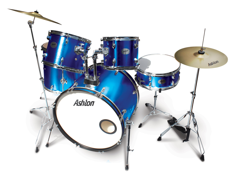 musicworks drums percussion jazz drum kits jazz kits ashton jazz drum kit metallic blue. Black Bedroom Furniture Sets. Home Design Ideas
