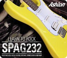 Ashton SPAG232 Electric Guitar Pack