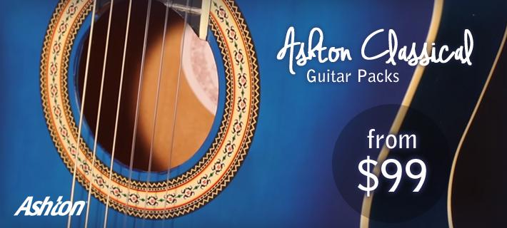 Ashton Classical Guitar Packs From $99