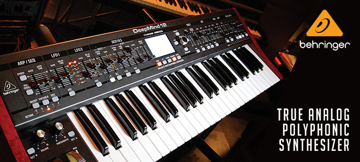 Behringer Deepmind12 Polyphonic Synth