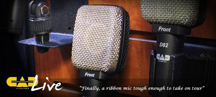 CAD Audio D82 Ribbon Mic