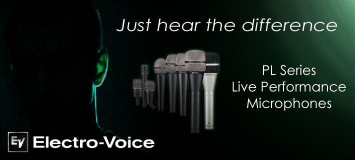 Electro Voice PL Series Microphones
