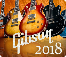 NEW Gibson 2018 Models