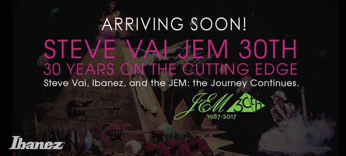 Ibanez JEM 30th Anniversary Model Arriving Soon!