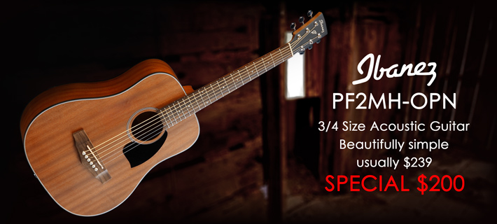 Ibanez PF2MHOPN Acoustic Special