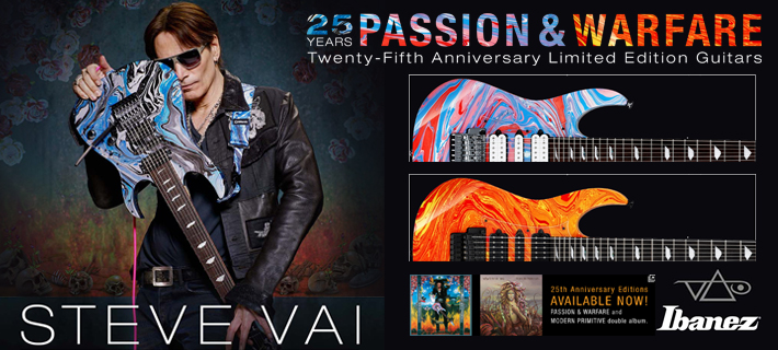 Ibanez Steve Vai 25th Anniversary UV77