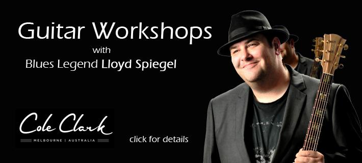 Australian Blues Legend Lloyd Spiegel Workshops