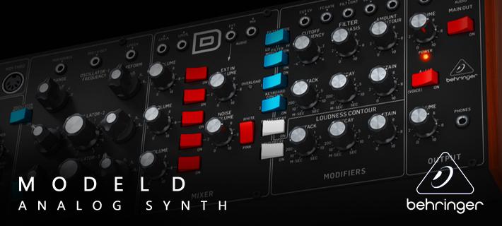 Behringer Model D Synth