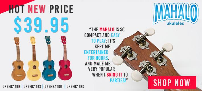 We're having a Mahalo Ukulele Sale!