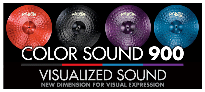 Paiste Colorsound 900 Series Cymbals