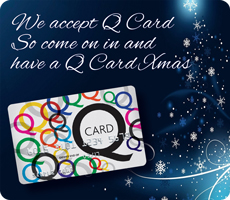 Q Card Xmas