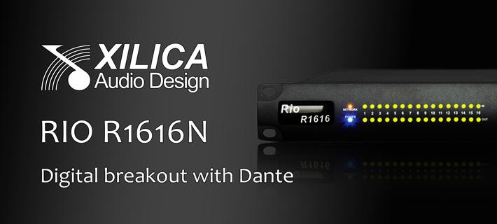Xillica Rio R1616N Digital Interface