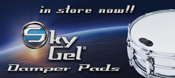 Sky Gel Damper Pads for Drums in stock!