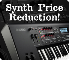 Yamaha Synth Price Reduction