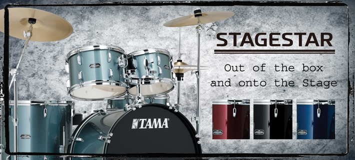 Tama Stagestar 5-piece Drum kit