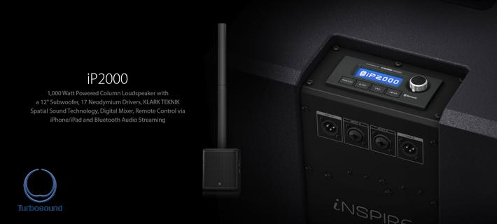 Turbosound iNSPIRE IP2000 Powered Speaker Array