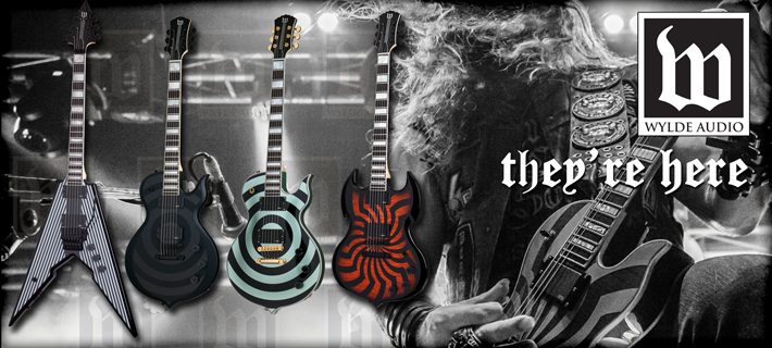 Wylde Audio Guitars are here!