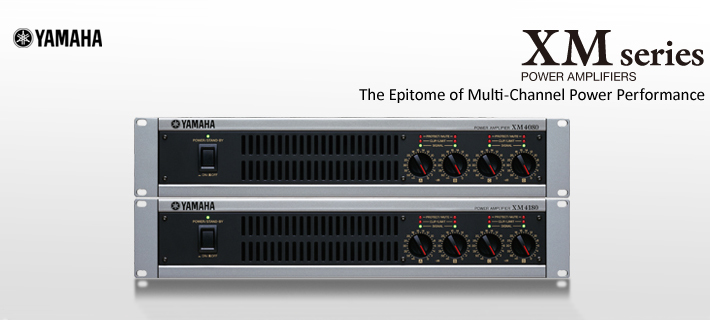 Yamaha XM Series Power Amplifiers