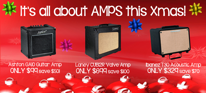 Xmas Guitar Amp Specials 2016