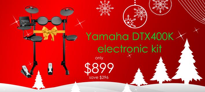 Xmas Yamaha DTX400K Special